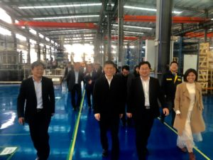 Communist Party of China has visited the new LU-VE Tianmen plant